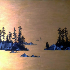 Diptych Lake 1