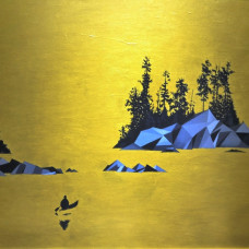 Diptych Lake 2